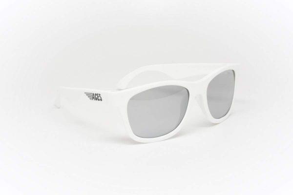 С/з очки Babiators Aces Navigator. Шаловливый белый Зеркальные линзы (6+)