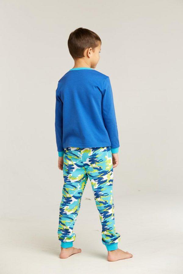 Пижама синий камуфляж Umka