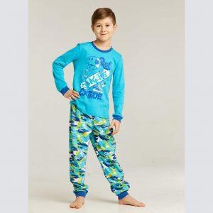 Пижама бирюзовый камуфляж Umka
