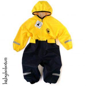 Комбинезон непромокаемый Спец-детка жёлтый