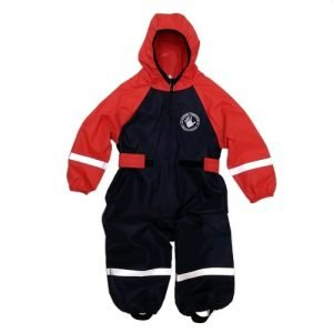 Комбинезон непромокаемый Спец-детка красный с синим
