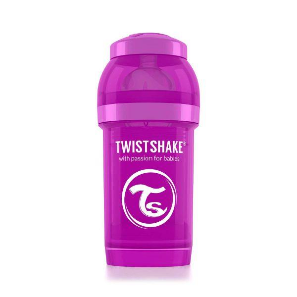 Бутылочка для кормления Twisthake 180 мл. фиолетовая