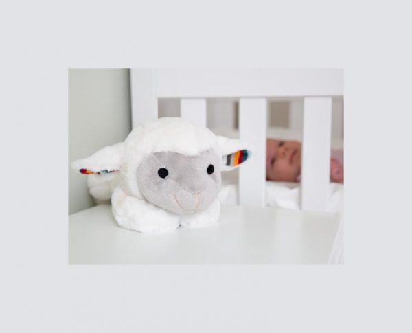 ZAZU Музыкальная мягкая игрушка-комфортер Лиз