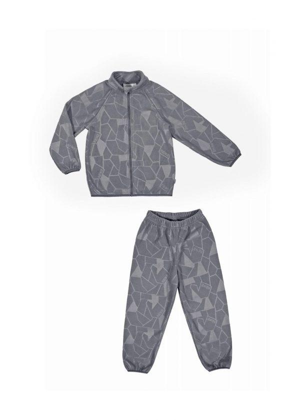 Флисовый комплект Reike серый