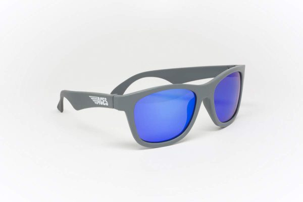 С/з очки Babiators Aces Navigator. Галактический серый Синие линзы (6+)