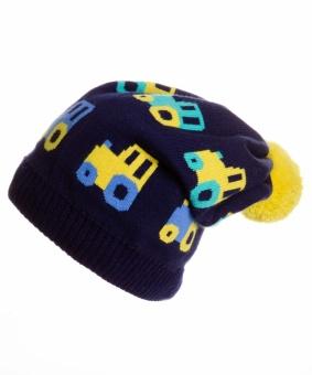 Шапка ЧУДО КРОХА Cd-883, цвет: Синий