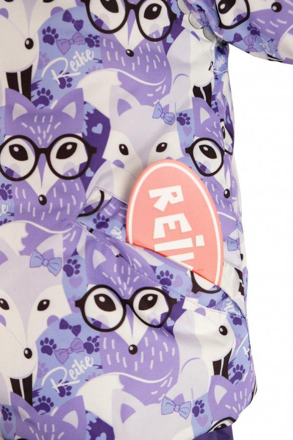 Комбинезон Reike Smart fox 86-98 Фиолетовый