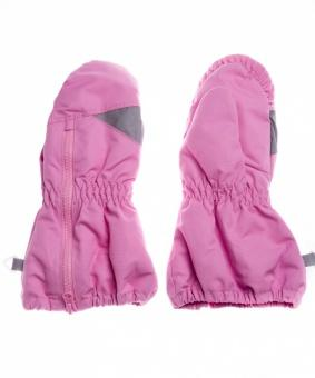 Рукавицы детские LM-37 темно-розовые