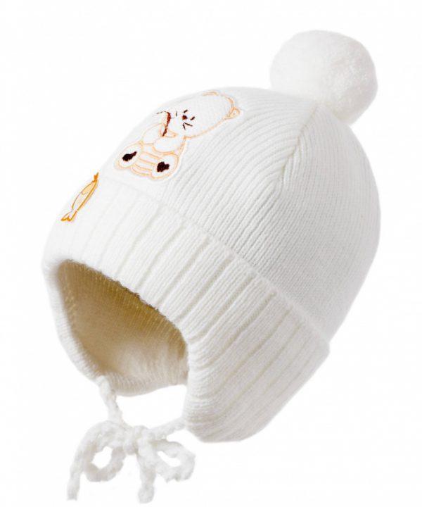 Шапка ЧУДО КРОХА C-799, цвет: Белый