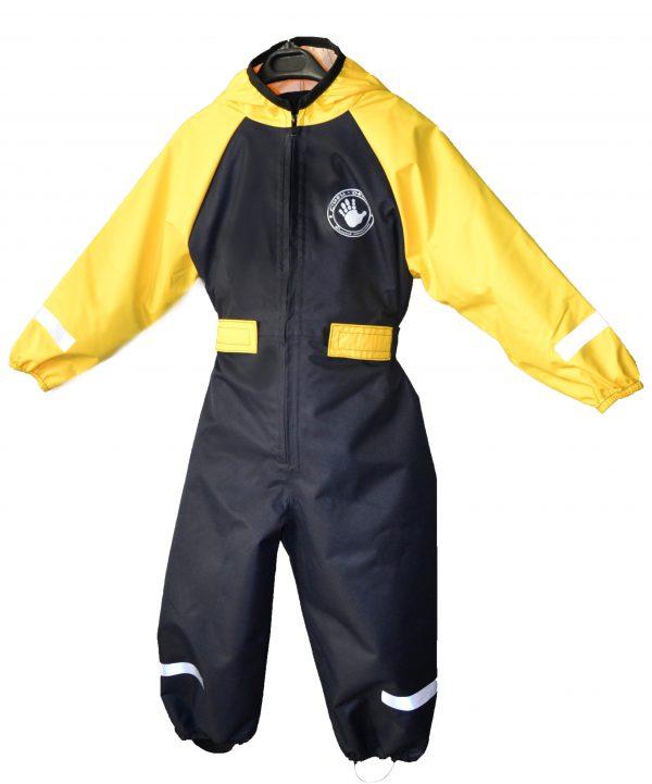 Комбинезон непромокаемый Спец-детка желтый с синим