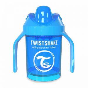 Поильник Twistshake Mini Cup. 230 мл. Синий. Возраст 4+m