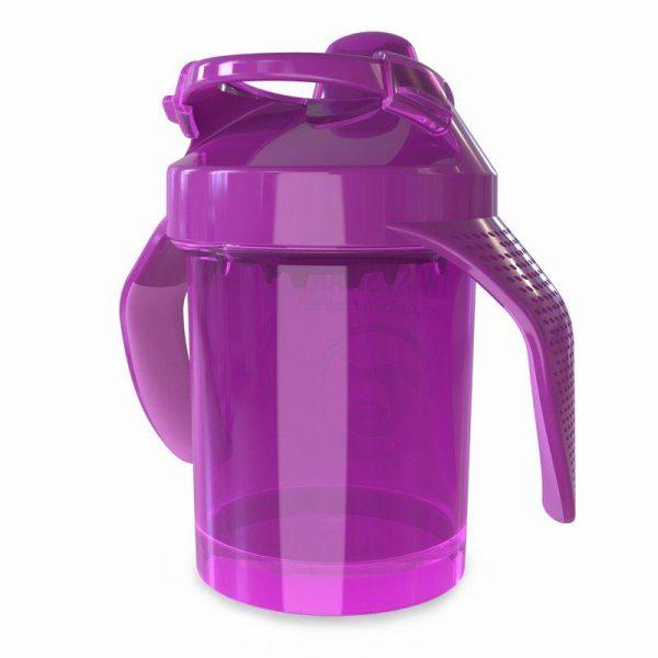 Поильник Twistshake Mini Cup. 230 мл. Фиолетовый. Возраст 4+m