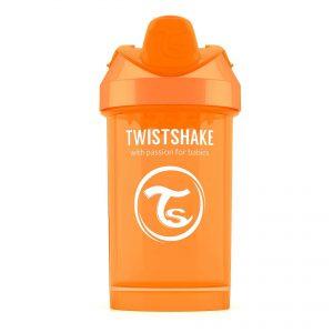 Поильник Twistshake 300 мл. Солнечный лучик (оранжевый). Возраст 8+m