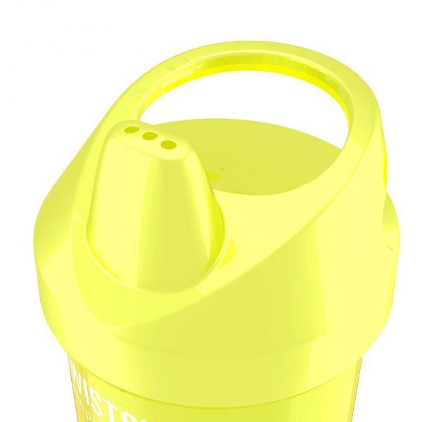 Поильник Twistshake 300 мл. Звёздное сияние (жёлтый). Возраст 8+m