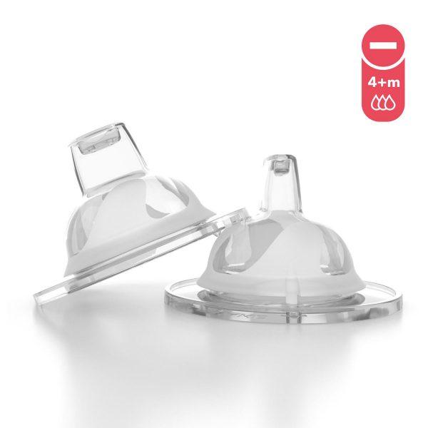 Носик-поильник для бутылочки Twistshake (2 шт). Возраст 4+m