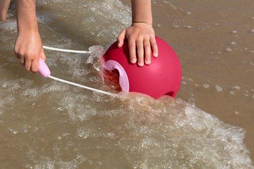 Ведёрко для воды Quut Ballo 1 л. коралловый