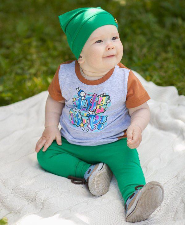 Штанишки зелёные The hip