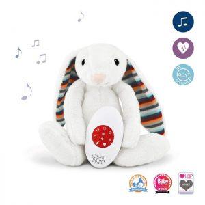 ZAZU Музыкальная мягкая игрушка-комфортер Биби