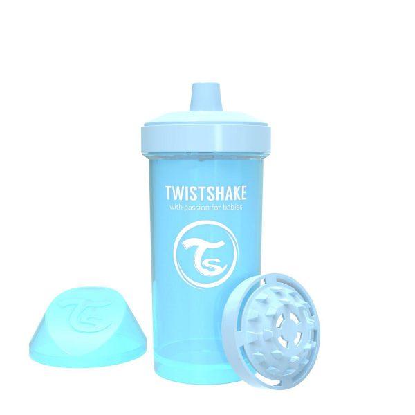 Поильник Twistshake 360 мл. Пастельный синий Возраст 12+m