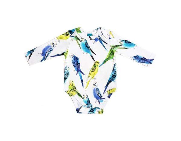 Боди с попугаями The hip