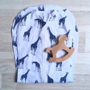 Утепленный кокон MamaPapa Жирафы