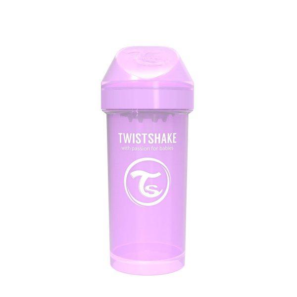Поильник Twistshake 360 мл. Пастельный фиолетовый Возраст 12+m