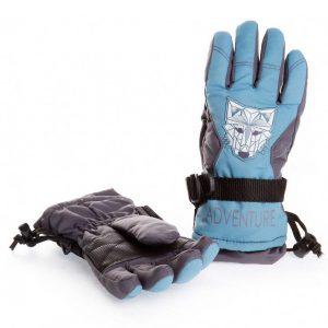 Перчатки ЧУДО КРОХА G-19, цвет: Синий