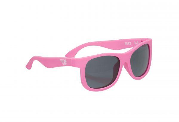 Солнцезащитные очки Babiators Original Navigator. Розовые помыслы Junior (0-2)