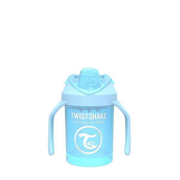 Поильник Twistshake Mini Cup. 230 мл. Пастельный синий Возраст 4+m.