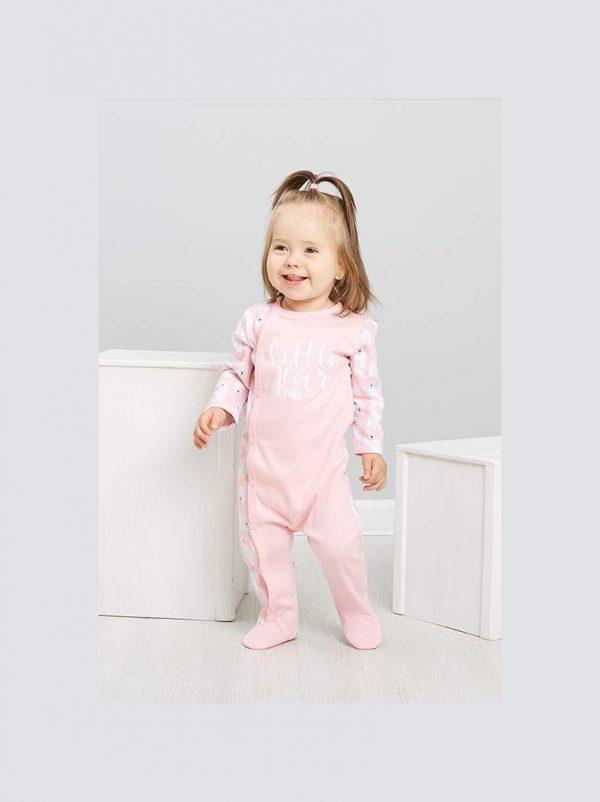 Комбинезон розовый Umka