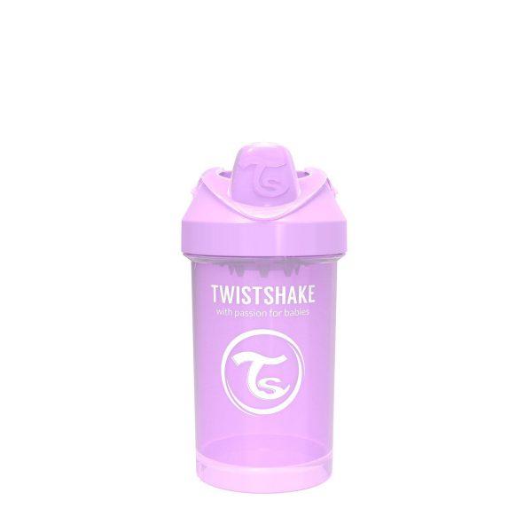 Поильник Twistshake 300 мл. Пастельный фиолетовый Возраст 8+m