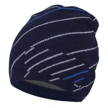 Шапка Fishka M4-869, цвет: Темно-синий
