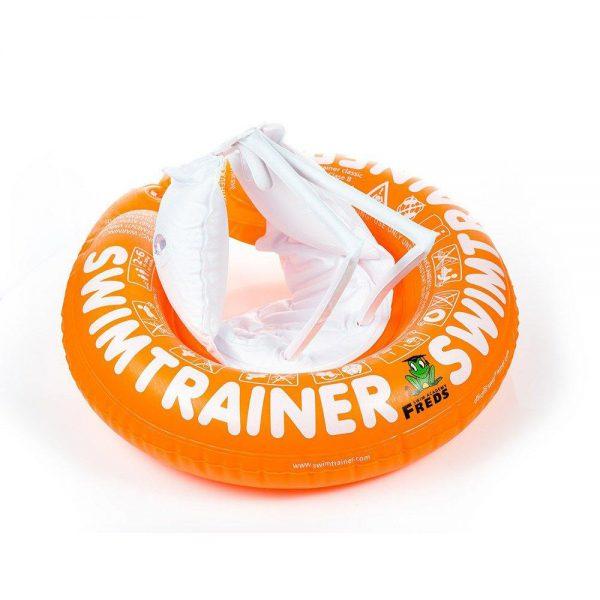 Надувной круг SWIMTRAINER оранжевый 2 - 6 лет