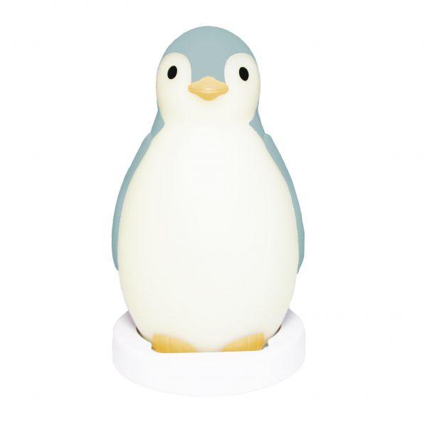 ZAZU Беспроводная колонка+ будильник+ночник пингвинёнок Пэм