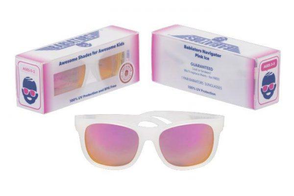 Солнцезащитные очки Babiators Розовый лёд 3-5 лет