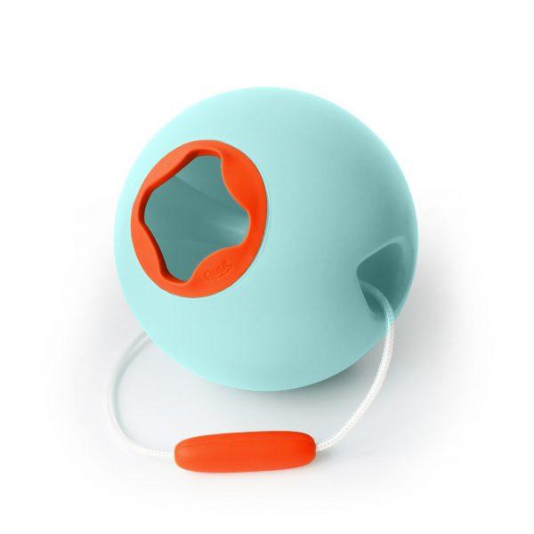 Ведёрко для воды Quut Ballo 1 л. винтажный синий и очень оранжевый