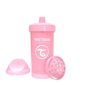 Поильник Twistshake 360 мл. Пастельный розовый Возраст 12+m