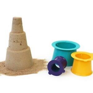 Формочки для 3-уровневых пирамид из песка и снега Quut Alto