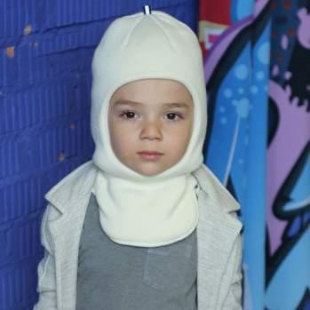 Шапка - шлем ПриКиндер UH3-988/Z, цвет: Молочный