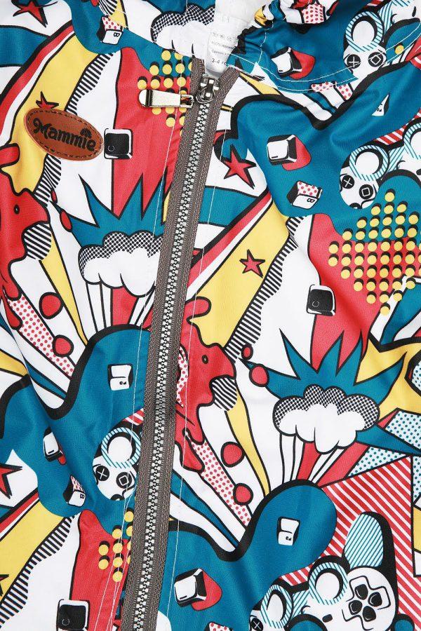 Комбинезон непромокаемый Mammie граффити