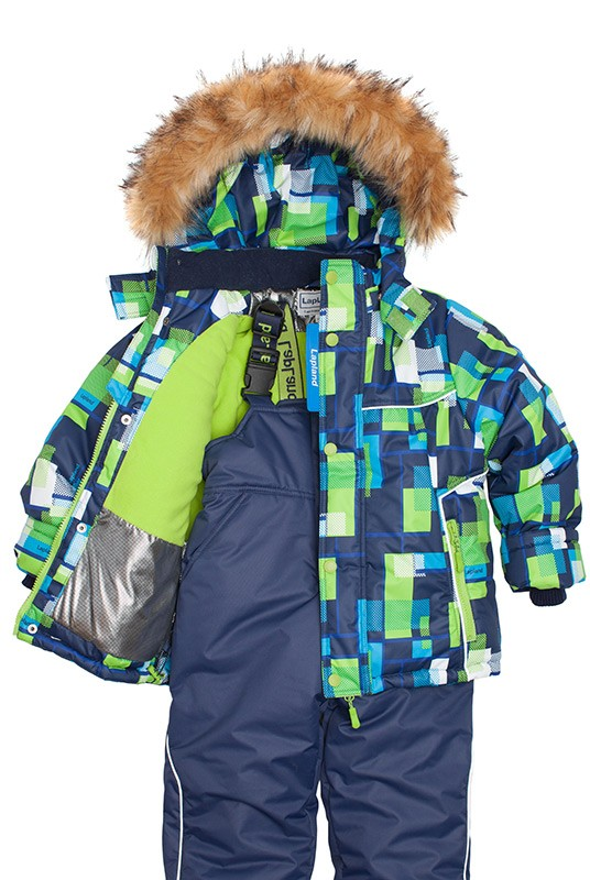 Зимний комплект для мальчика Lapland 116