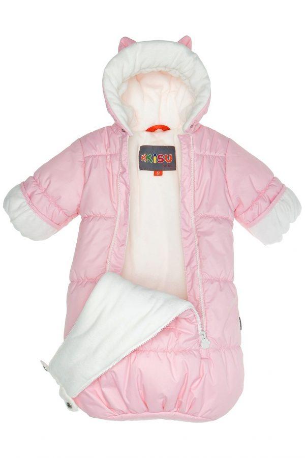 Конверт для новорожденных Kisu розовый