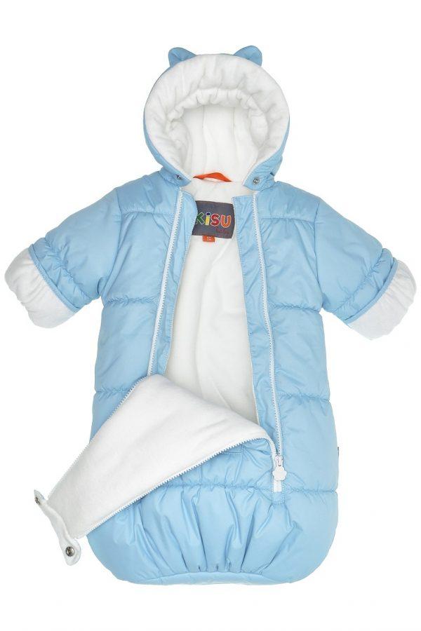Конверт для новорожденных Kisu голубой