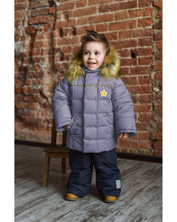 Комплект для мальчика Fox-cub 92 серый