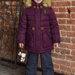 Комплект для девочки Fox-cub 104-116 вишня