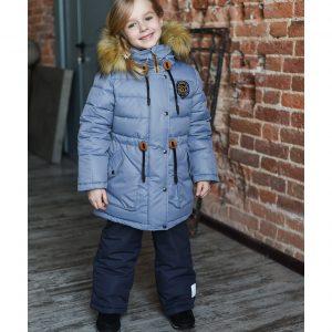 Комплект для девочки Fox-cub 104-116 серый