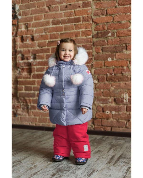 Комплект для девочки Fox-cub 86,92 серый