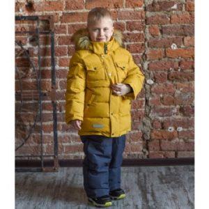 Комплект для мальчика Fox-cub 104-116 горчица