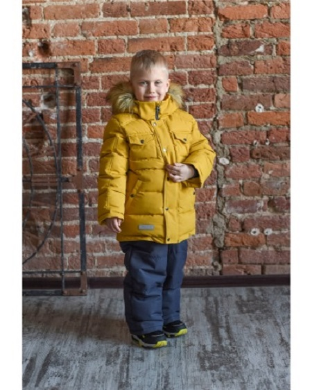 Комплект для мальчика Fox-cub горчица