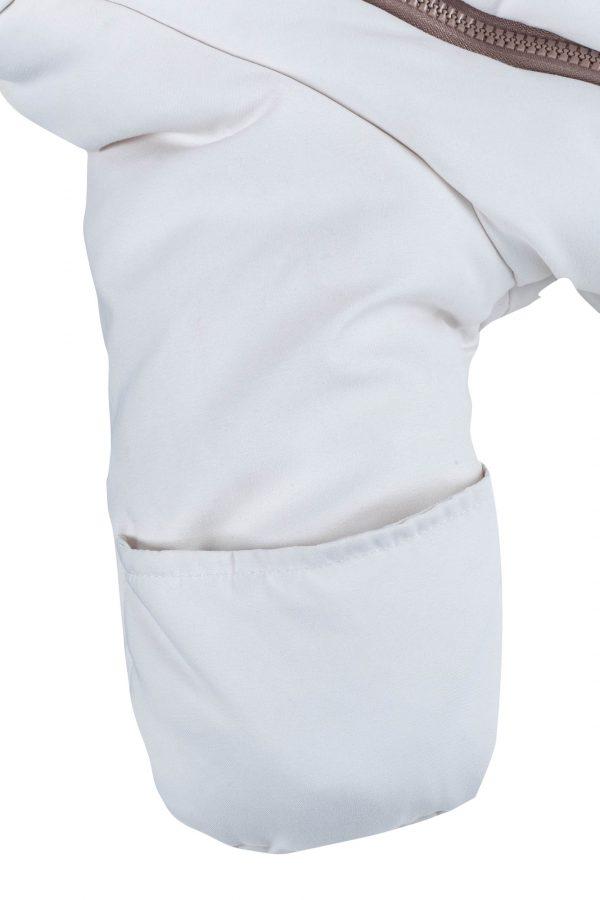 Конверт для новорожденных Mammie цвет кремовый